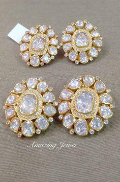 New jewerly earrings diamond studs sterling silver Ideas Jewelry Design Earrings, Gold Earrings Designs, Big Earrings, Diamond Earrings, Jewellery Designs, Jewellery Sketches, Diamond Studs, Tassel Earrings, Diamond Jewelry