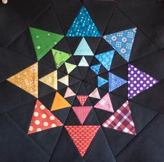 4X5 Modern Quilting Bee, Winter Round by mollyjolly, via Flickr