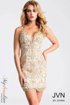 Jovani JVN53184 Short Cocktail Dress