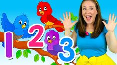 Learn to count; help Bounce Patrol count the birds, pandas and piglets! There's so many things to count, will you help us count them all? Learn to count from. Counting Songs For Kids, Songs For Toddlers, Kids Songs, Kids Nursery Rhymes, Rhymes For Kids, Number Song, French Numbers, Teaching Numbers, Learn To Count
