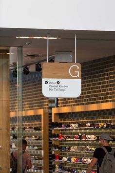 Sydney's Central Park Precinct launches brand, identity, signage and graphics system via Frost* - Campaign Brief Australia Library Signage, Shop Signage, Signage Display, Retail Signage, Signage Design, Office Signage, Directional Signage, Wayfinding Signs, Corporate Design