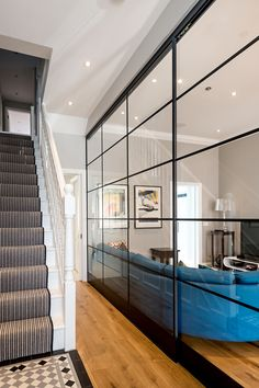 (Find out more by clicking on the image) Hall House, Crittall, Rear Extension, Construction Process, Project Ideas, Projects, Light Architecture, Architects, Terrace