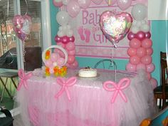 baby shower balloons.