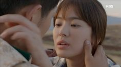 태양의 후예 송중기 송혜교 키스신 마치 영화의 한장면 같아