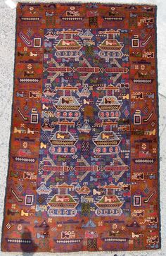 """War Rugs: The Obscure Collectors Market for Afghan """"Kitsch"""" New Carpet, Rugs On Carpet, Western Living Rooms, Mohawk Carpet, Digital Text, Tribal Patterns, Carpet Colors, Afghan Rugs, Floor Rugs"""