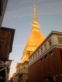 Turin -La Mole Antonelliana in the winter sun