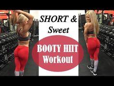 Short & Sweet Butt Workout - YouTube