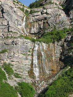 Bridal Veil Falls Provo, Utah
