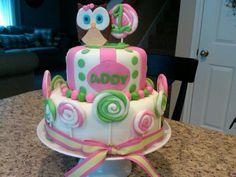 """A"" 1st Birthday Cake!"