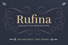 Rufina Font Family / 60%OFF by TipoType on Creative Market