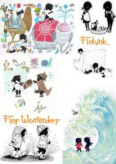 Fiep Westendorp, Dutch Illustrator. Check out my blog ramblings an arty chat here www.fishinkblog.w... and my stationery here www.fishink.co.uk , illustration here www.fishink.etsy.com and here fishink.carbonmad... /4182518#1 Happy Pinning ! :)
