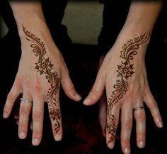 girlshue - 30 Easy & Simple Mehndi Designs & Henna Patterns 2012 | Henna Tattoo For Beginners