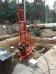 Source Cheap water well drilling rig /100m water well drilling machine price on m.alibaba.com Drilling Machine, Drilling Holes, Water Well Drilling, Homestead Farm, House Yard, Oil Rig, Small Buildings, Water Pipes, Irrigation