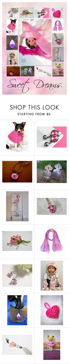 """""""Sweet Dreams: Stunning Valentines in Pink"""" by paulinemcewen ❤ liked on Polyvore featuring Preciosa, rustic and country"""