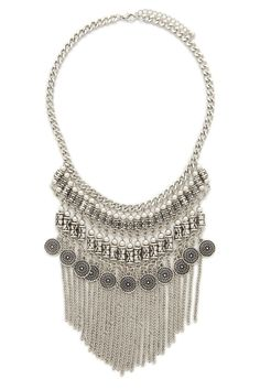Fringe Statement Necklace from Forever 21. $12.90