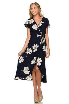 Bellini Floral Wrap Dress