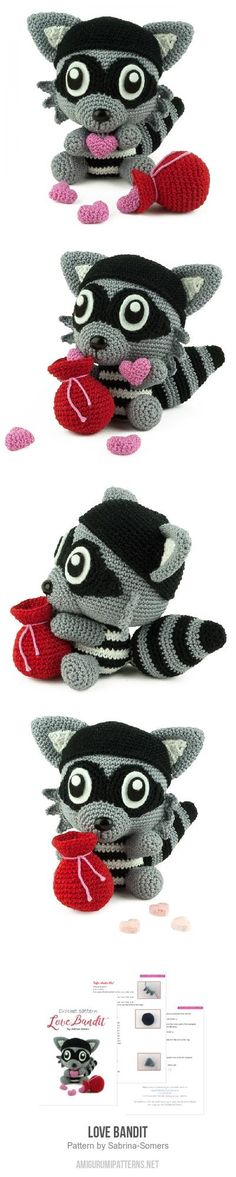 Love Bandit Amigurum