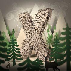 Incríveis ilustrações criadas com pedaços de papel - Lisa Lloyd utiliza papel para criar lindas ilustrações que realmente deixam qualquer um impressionado.