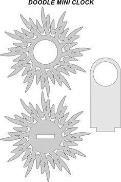 DOODLE MINI CLOCK - Utilitarian - User Gallery - Scroll Saw Village