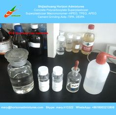 Chemicals used in concrete polycarboxylate superplasticizer