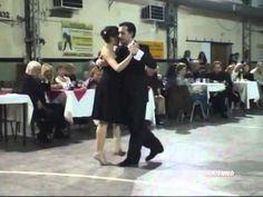 Alejandro Hermida dancing a tango at Sunderland