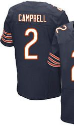 """$78.00--Jason Campbell Jersey - Elite Nike Stitched Chicago Bears #2 Navy Home Jersey,Free Shipping! Buy it now:click on the picture, than click on """"visit aliexpress.com"""" In the new page."""