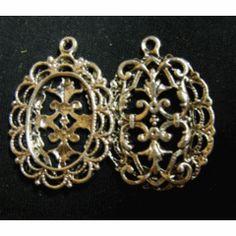 Off Sale! Silver Metal Bezel Pendant, x - Pack of for 50 Off Sale, Bead Shop, Silver Metal, Shops, Beads, Pendant, O Beads, Tents, Pendants