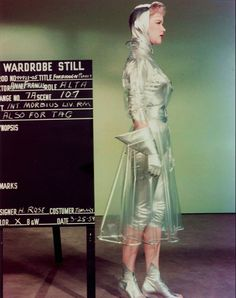 This amazing wardrobe still sheds light on the unique details and creativity of the 1950s.