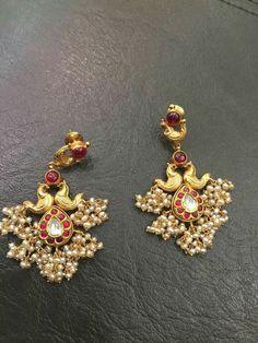 Heavy earrings                                                                                                                                                                                 More
