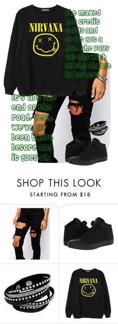 """""""Hey Everybody"""" by pineapple205 ❤ liked on Polyvore featuring Liquor n Poker, Converse and Chicnova Fashion"""