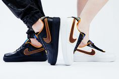 "NIKE + R.T. Air Force 1 – ""Laissez-aller"" (Editorial) « The Hype BR"