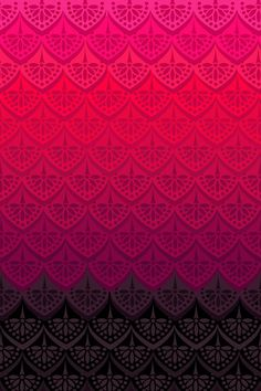 ELENA PATTERN - FLAMENCO VERSION Art Print