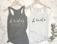 Brides Babes Bridesmaid Shirts Bachelorette Party by EllaJayDesign