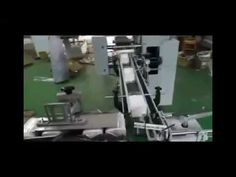 Automatic V fold facial tissue paper packaging machine