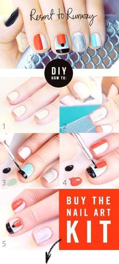 Yachting Nails #nailart
