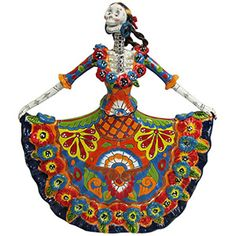 Talavera Figures for Day of the Dead Collectors
