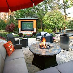 "houzz.com.. outdoor man cave?? :D.....no!!!! Why does it have to be a ""man"" cave???!!!!"