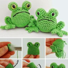 Crochet For Children: Fred the Frog - Free Pattern