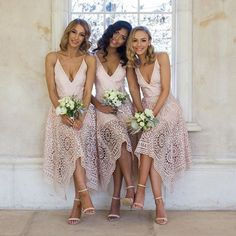 Nicholas Lace V Ball Dress in Antique Pink  Available in sizes 6-14. Photography: Danielle Symes @danielle_symes #bridesmaids #wedding