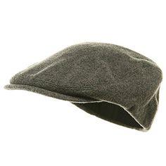 73b5eaa5260 MG Men s Wool Ivy Newsboy Cap Hat (Black)