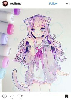 Likes, 157 Comments - Yoai / Anny / Cicishu ( Anime Chibi, Kawaii Anime, Art Anime, Anime Kunst, Kawaii Art, Copic Drawings, Anime Girl Drawings, Manga Drawing, Manga Art