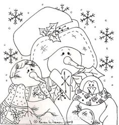 Pattern Pintura Country, Arte Country, Tole Painting Patterns, Craft Patterns, Christmas Coloring Pages, Coloring Book Pages, Christmas Colors, Christmas Art, Christmas Patterns