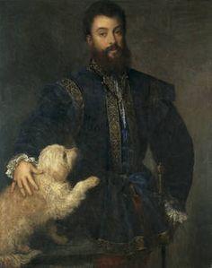 Federico II Gonzaga, I Duke of Mantua (1500-1540), Painted by Titian in 1529.