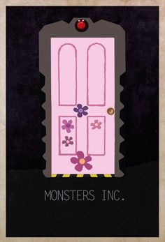 Monsters Inc. - Movie Doors by Edgar Ascensao