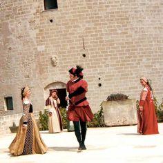 Eventi in costumi medioevali a Torre del Parco, Lecce