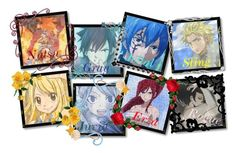 """Fairy Tail Ships"" by yummyismyname ❤ liked on Polyvore featuring art"