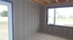Rochester Passive House: Ready for Drywall! Window Detail, Passive House, Drywall, Windows, Ramen, Gypsum, Window