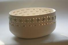 White Porcelain: stitching