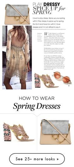 """""""Spring to Summer"""" by beth-villasin on Polyvore featuring Free People, Chloé and Gucci"""