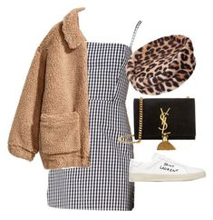 """Untitled"" by whoiselle ❤ liked on Polyvore featuring Yves Saint Laurent, H&M and Christian Dior"